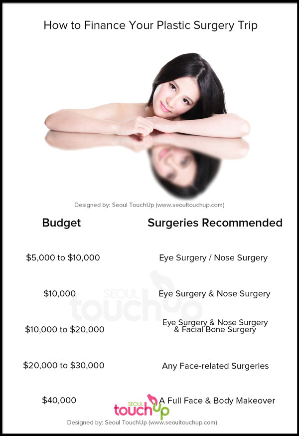 Korean Plastic Surgery Prices Seoul Touchup