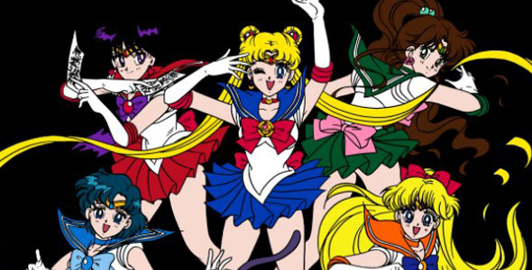 plastic surgery gone wrong? oh wait it's sailor moon!