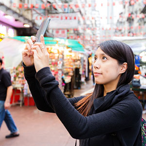 statistics show an upsurge in Chinese tourists visiting Korea